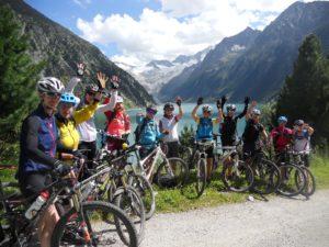 MTB Transalp Alpenüberquerung Frauen