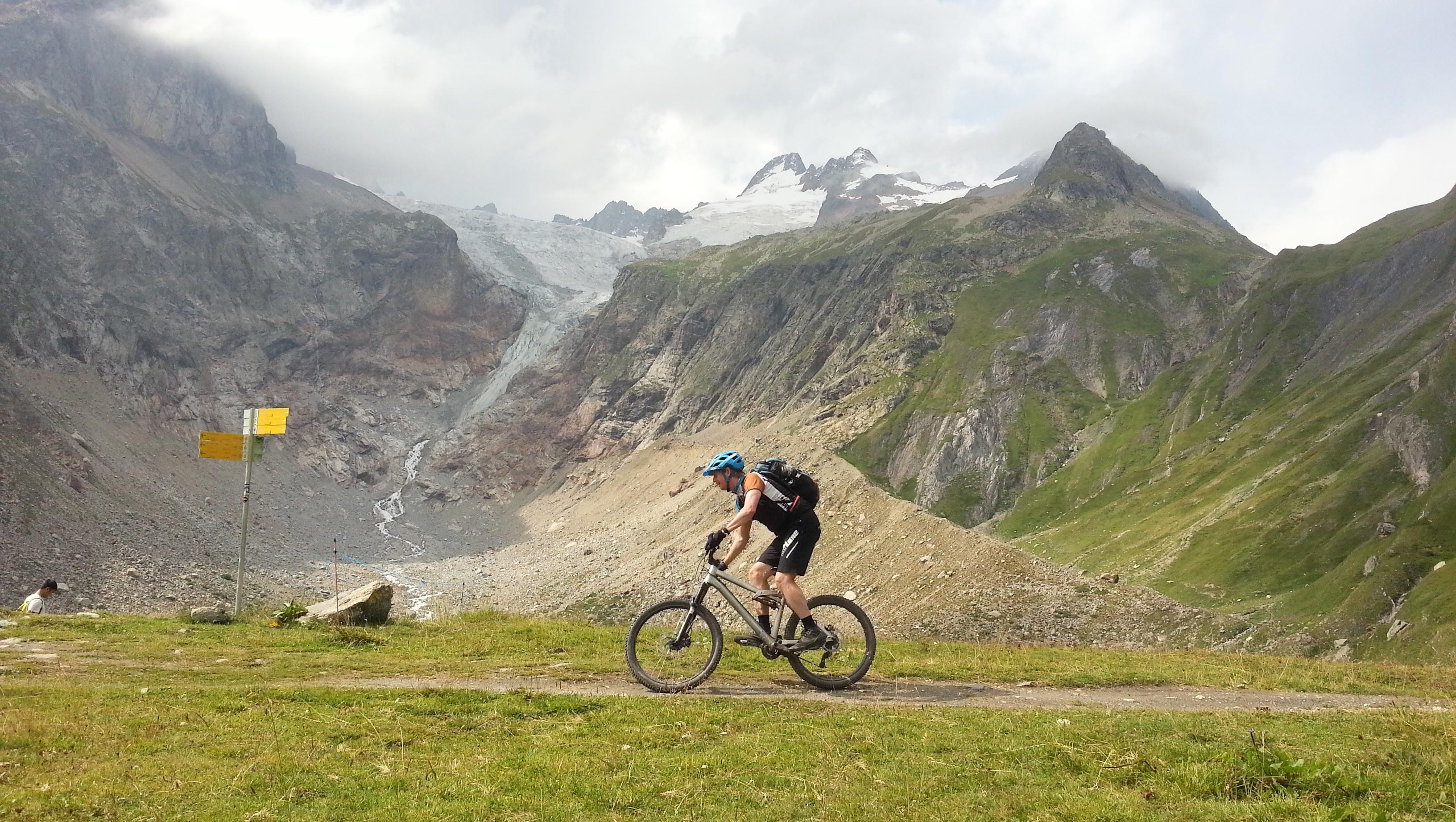 beitune MTB Tour du Mont Blanc