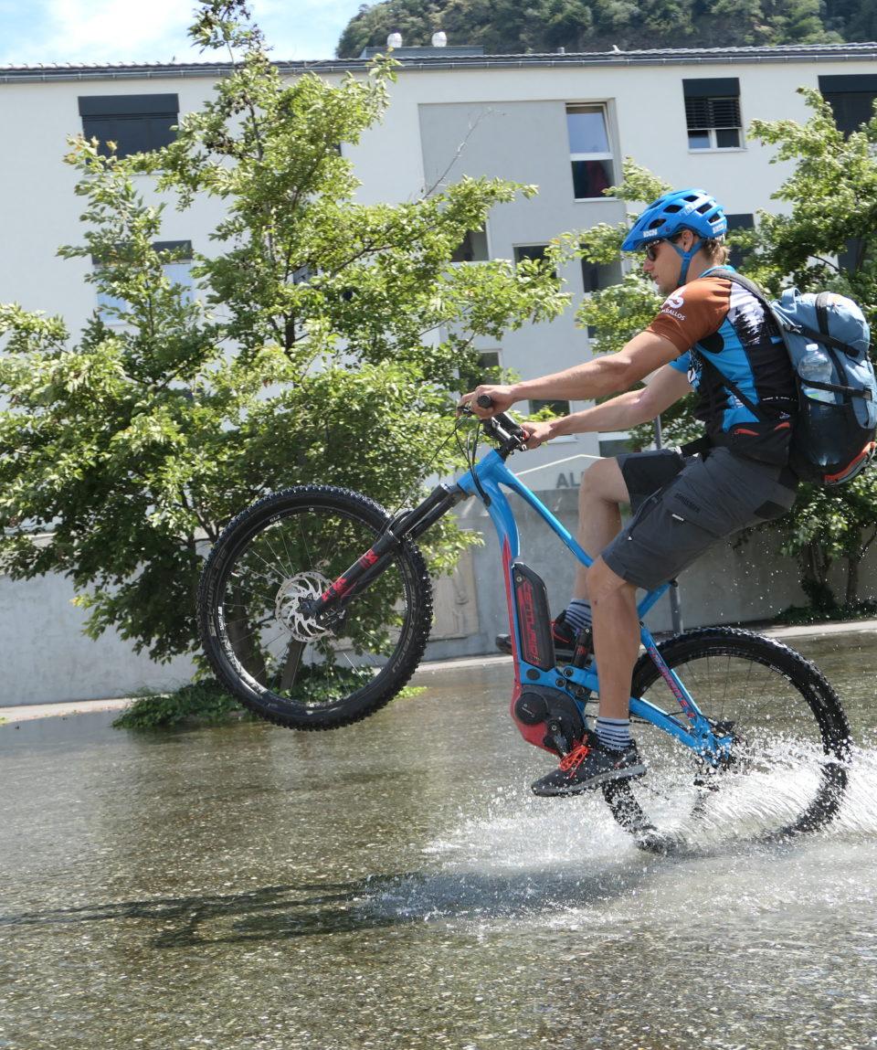 beitune E MTB Fahrtechniktraining E-Bike