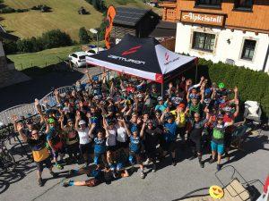 Trails, Spaß und gute Stimmung beim beitune Alpen-Bike-Gipfel in Kappl nahe Ischgl