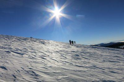 Bei der beitune Schneeschuhwanderung erleben wir die Vogesen aus einer völlig neuen Perspektive