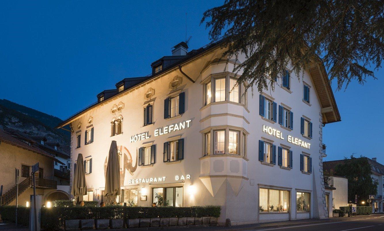 Das beitune Partnerhotel Elefant liegt auf vielen unserer Alpenüberquerungen mit dem MTB